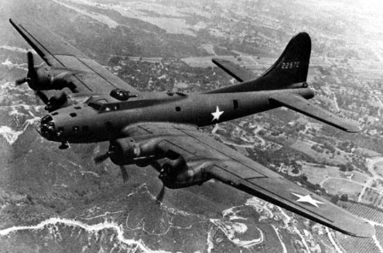 B-17 F  B17 Bomber